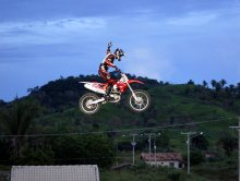 Motocross Freestyle - Joaninha e Equipe - Xinguara - Pará