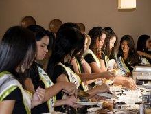 Café da Manhã Candidatas Rainha FAX 2013