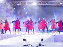 Dança Coletiva - Baile Rainha FAX 2017