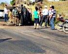 Acidente envolvendo três carros na BR-155 em Xinguara