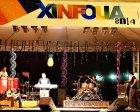 Alegria na 1ª folia de Xinguara