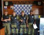 Criminosos são presos pela Polícia Militar após cometerem assalto em Rio Maria