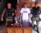 Duas pessoas são presas acusadas de tráfico de drogas em Xinguara