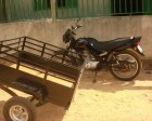 O Empresário Roberto Paullinelli do Frigorífico Rio Maria fez doação de moto para entidade em Xinguara - Pará