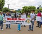 Policiais Militares realizam protestos em ruas de Xinguara